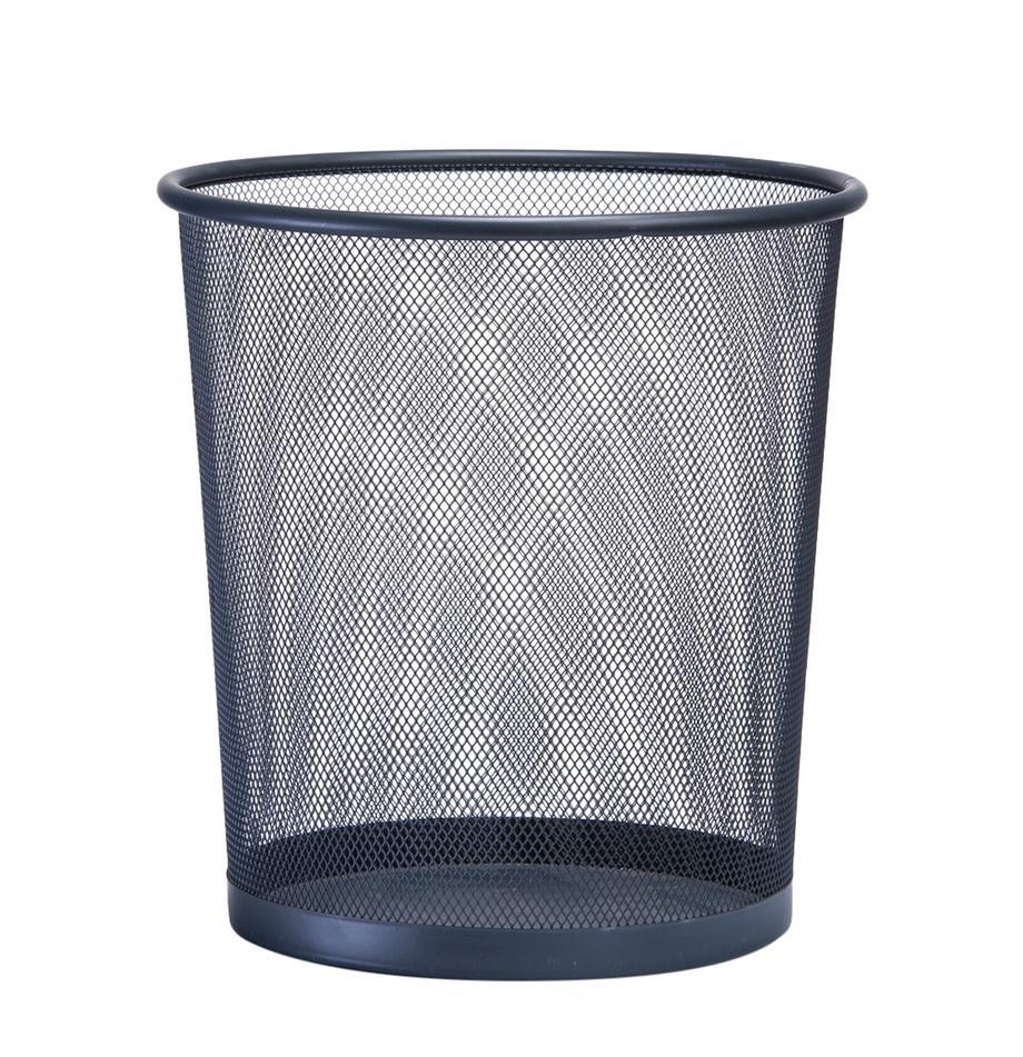 Papiermand Mesh, Gelakt metaal, Grijs, Ø 26 x H 28 cm