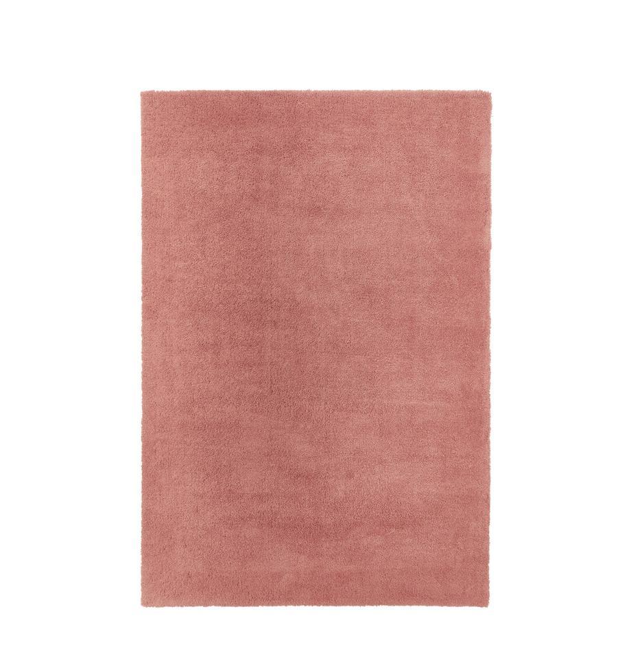 Flauschiger Hochflor-Teppich Leighton in Terrakotta, Flor: 100% Polyester (Mikrofase, Terrakotta, B 200 x L 300 cm (Größe L)