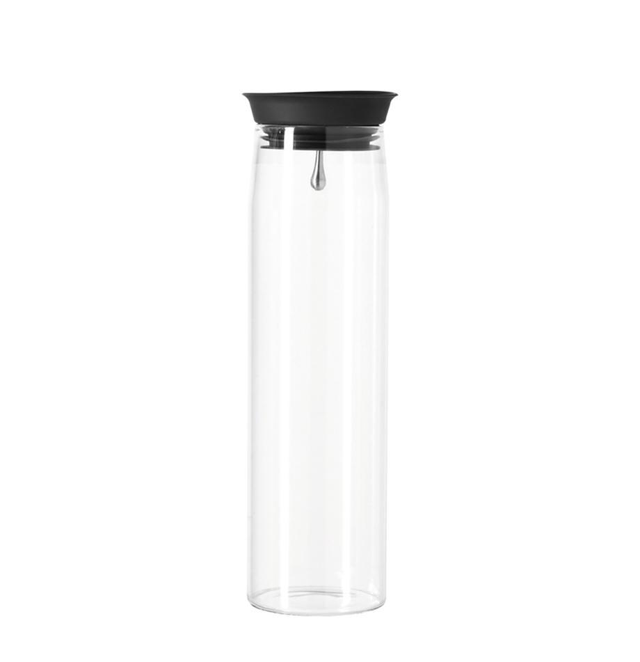 Karafka Brioso, Szkło, silikon, Transparentny, 1,1 l