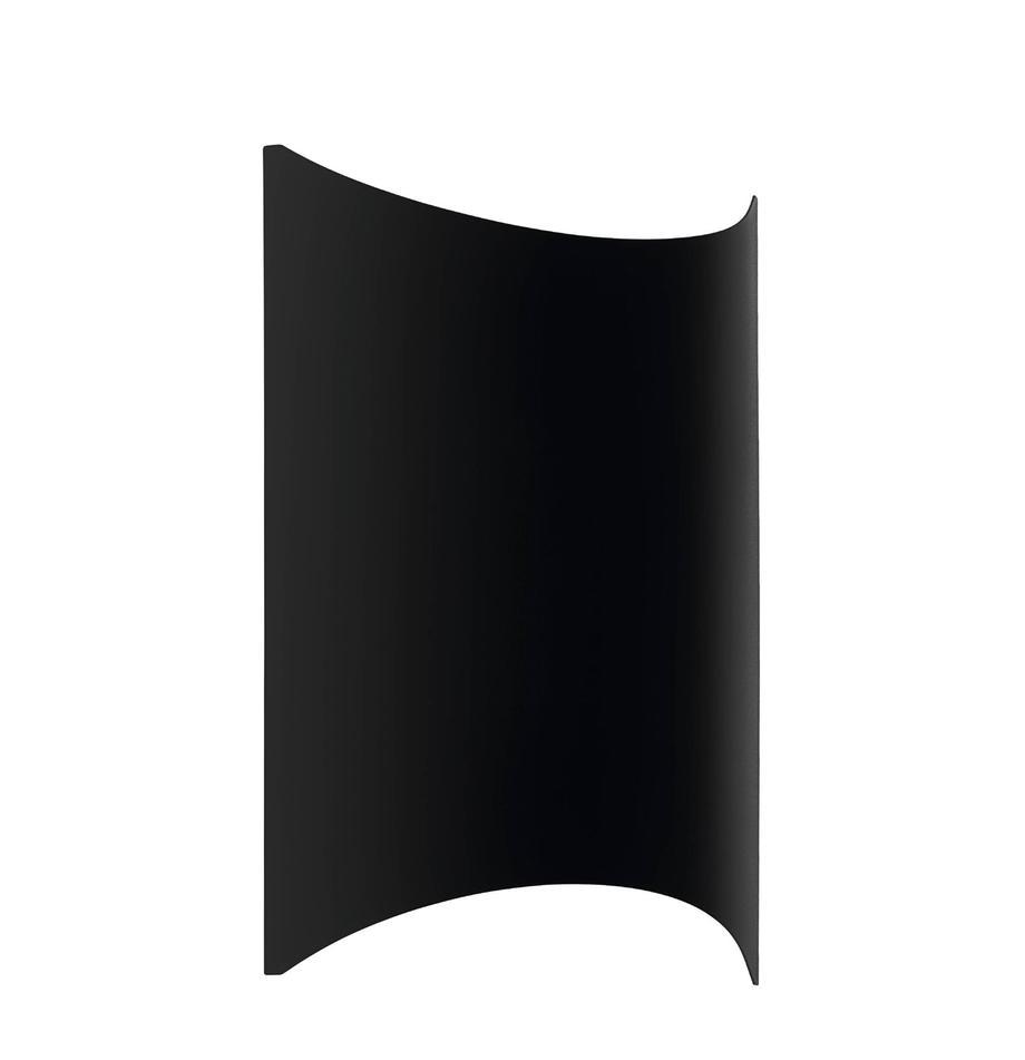 LED-Außenwandleuchte Lagasco, Stahl, verzinkt, Schwarz, 19 x 28 cm