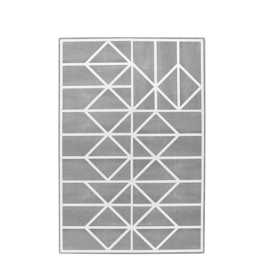 Set de alfombra de juegos Nordic, 18pzas., Espuma (EVAC), libre de productos tóxicos, Gris, crema, An 120 x L 180 cm