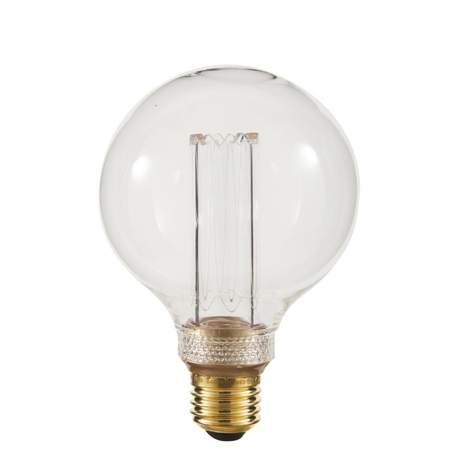 E27 XL-Leuchtmittel, 2.5W, dimmbar, warmweiss, 1 Stück, Leuchtmittelschirm: Glas, Leuchtmittelfassung: Messing, Bernsteinfarben, Ø 10 x H 15 cm