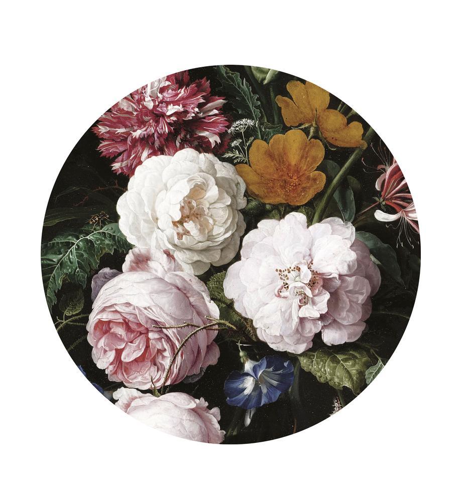 Fototapeta Golden Age Flowers, Polar, matowy, przyjazny dla środowiska i ulegający biodegradacji, Wielobarwny, Ø 190 cm