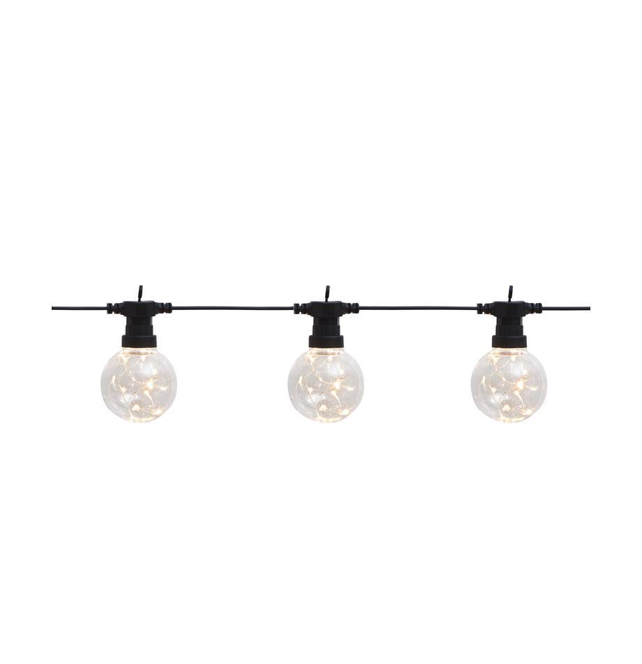LED lichtslinger Big Cirkus, 950 cm, Lampions: kunststof, Zwart, L 950 cm