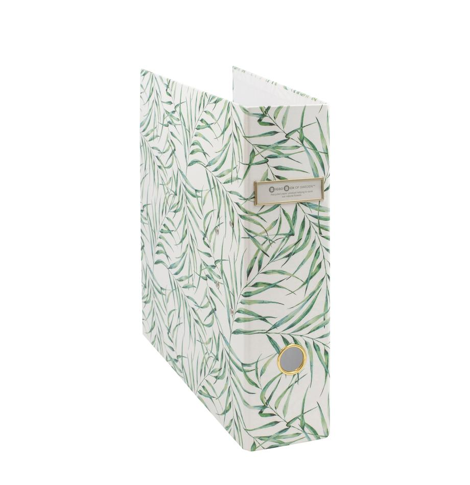 Dokumentenordner Leaf, Weiss, Grün, 29 x 32 cm