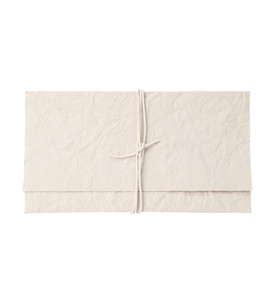 Sobre para regalo Soft, Papel, Crema, An 27 x Al 15 cm
