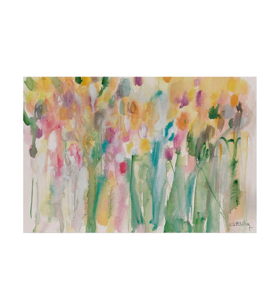 Impresión digital sobre lienzo Tulipanes Costero, Multicolor, An 60 x Al 40 cm