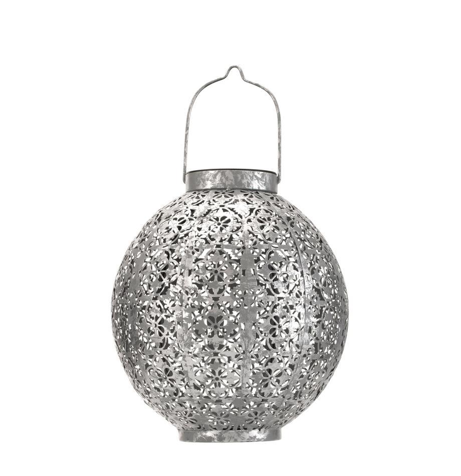 Lampada solare da esterno Aura, Lampada: metallo, Argentato, Ø 22 x Alt. 25 cm