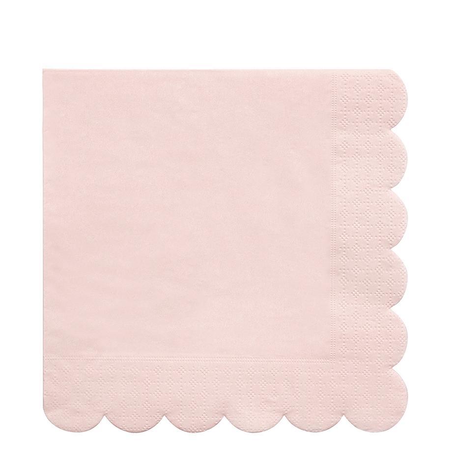 Tovagliolo di carta Simply Eco 20 pz, Carta, Rosa, Larg. 33 x Lung. 33 cm