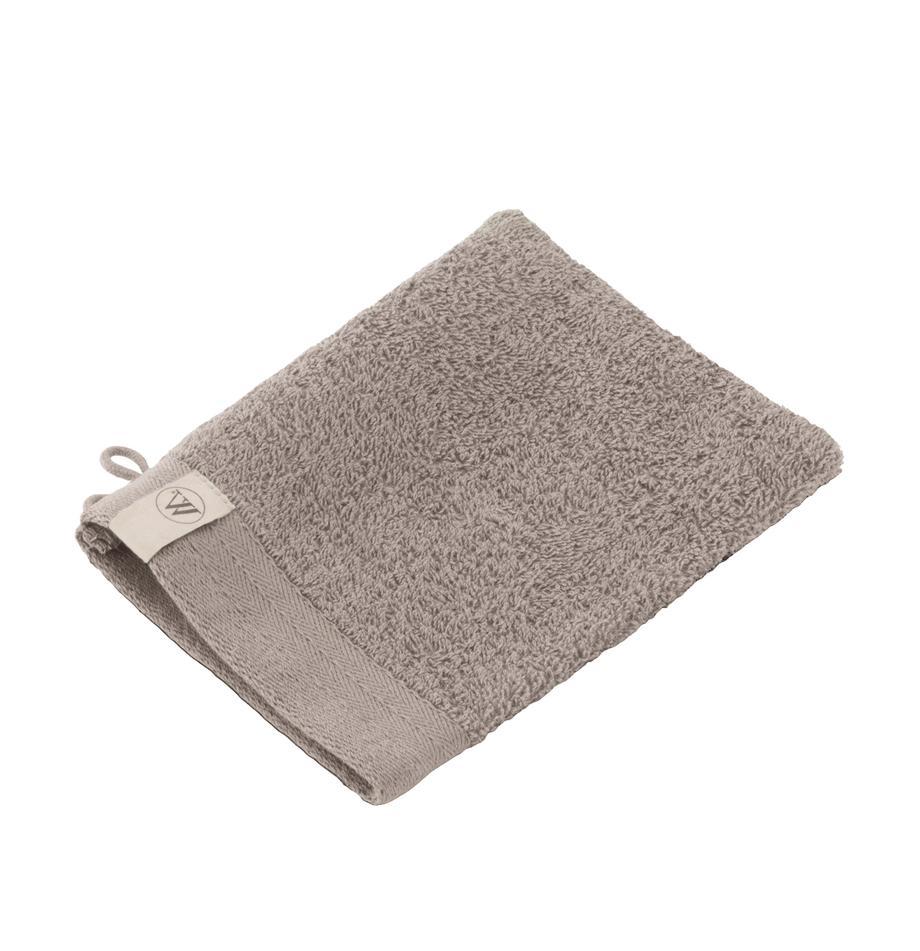 Rękawica kąpielowa Soft Cotton, 2 szt., Taupe, S 16 x D 21 cm