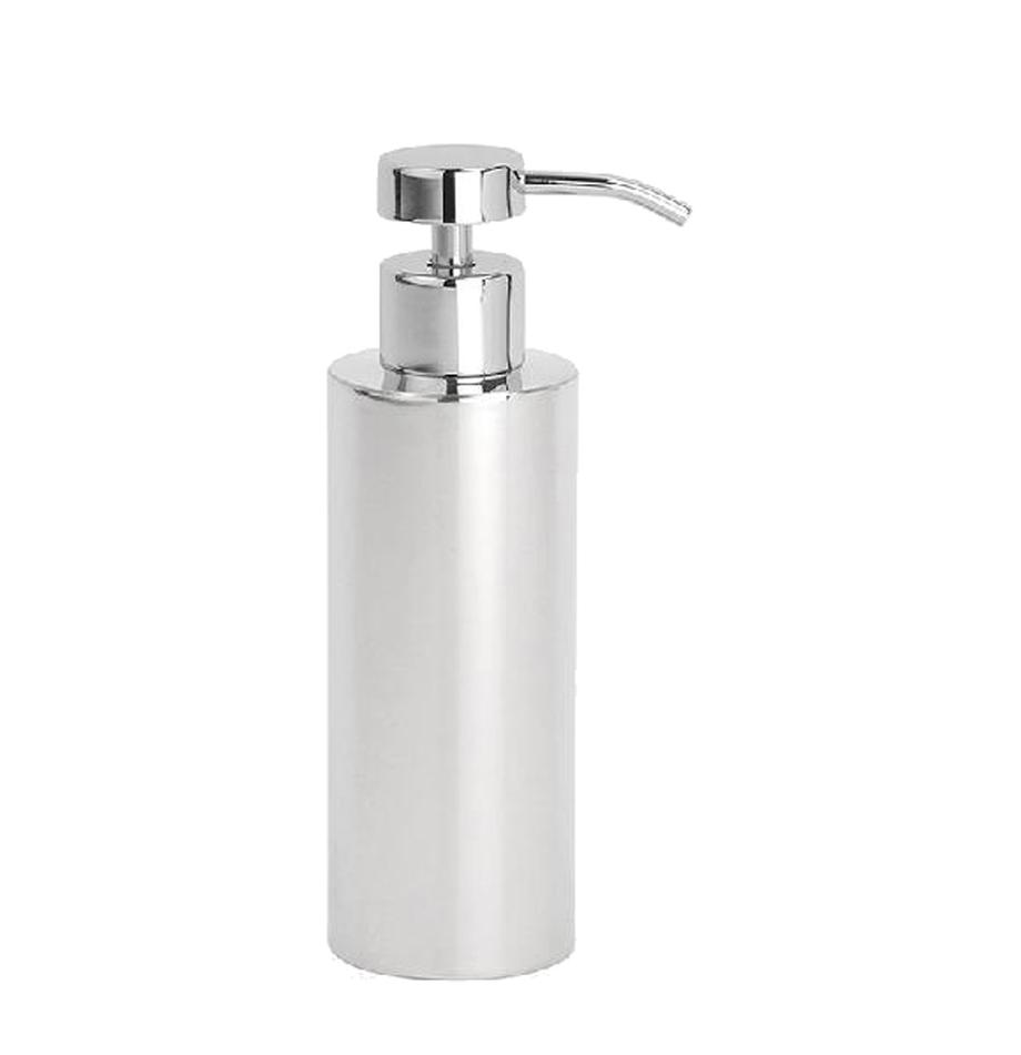 Dosificador de jabón Stoni, Acero inoxidable, Acero inoxidable, Ø 6 x Al 18 cm