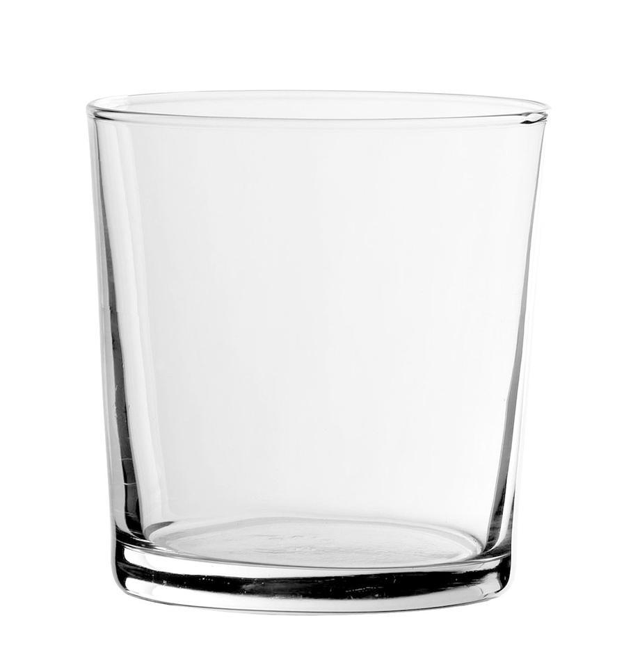 Waterglazen Simple, 6 stuks, Glas, Transparant, Ø 9 x H 9 cm