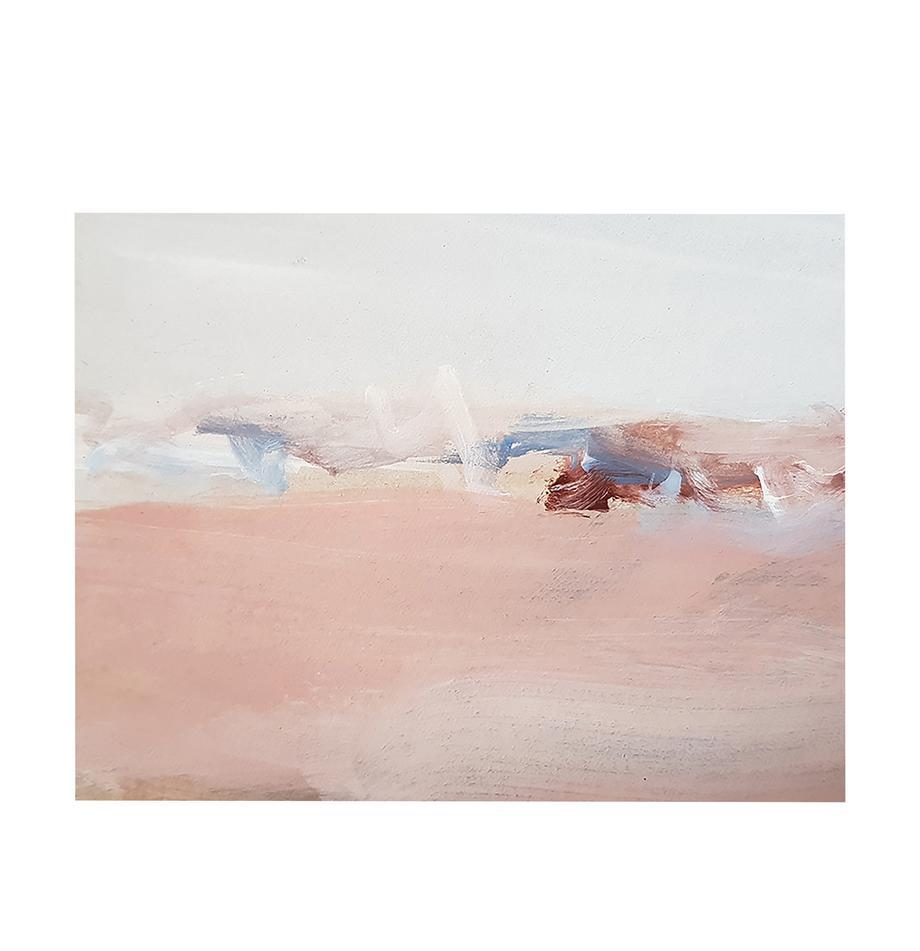 Leinwanddruck Abstract Modern, Bild: Digitaldruck auf Leinen, Mehrfarbig, 80 x 60 cm