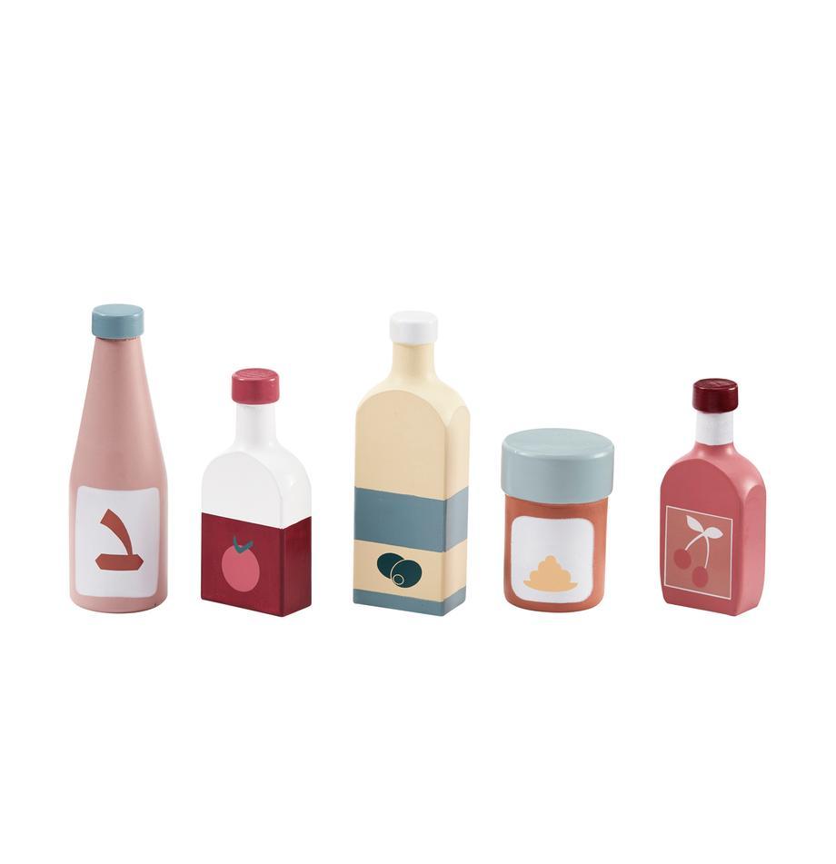 Spielzeug-Set Bottle, 5-tlg., Holz, Mehrfarbig, Sondergrößen
