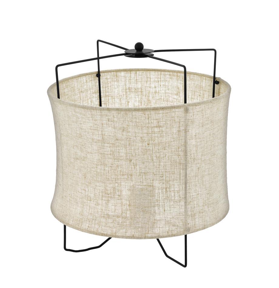 Lampa stołowa Bridekirk, Beżowy, Ø 30  x W 34 cm