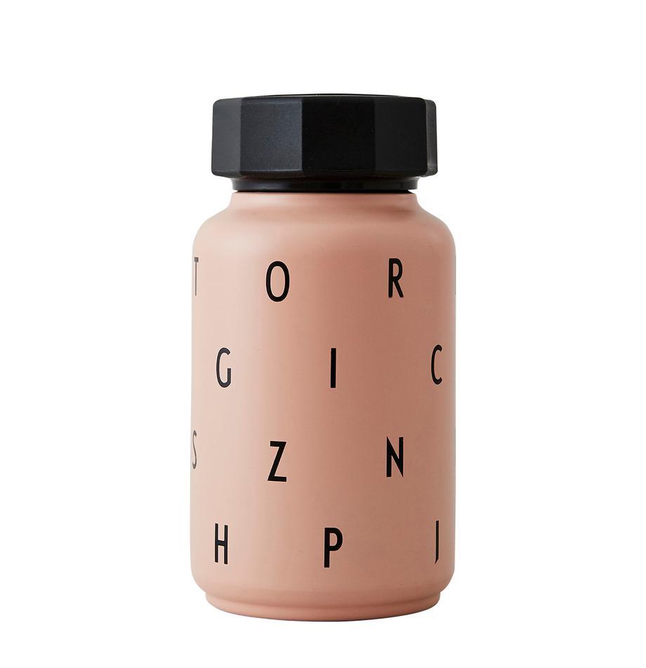 Kinderthermosfles Ilona met rietje, Rietje: siliconen, Roze, 330 ml