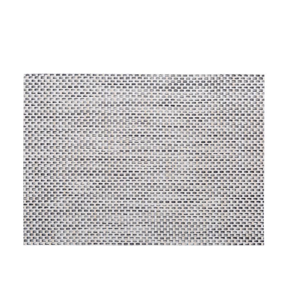 Kunststoff-Tischsets Trefl, 2 Stück, Kunststoff, Beige, Hellgrau, 33 x 46 cm