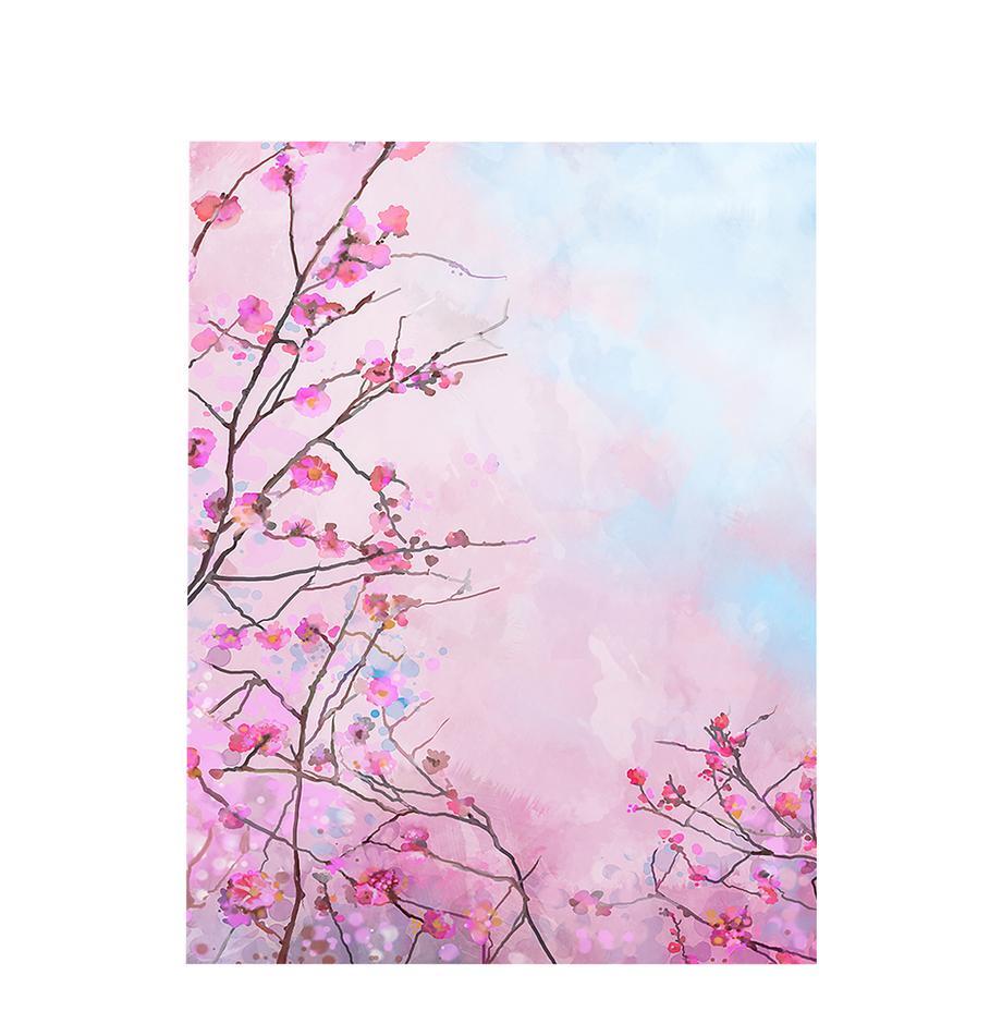 Cuadro Sakura Floral, Multicolor, An 63 x Al 83 cm