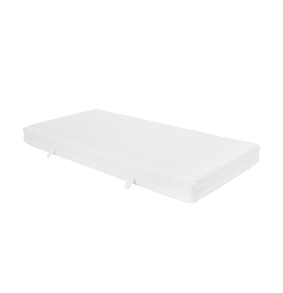 Kaltschaum-Matratze Vital, Bezug: Doppeljersey-TENCEL® (56%, Weiss, 90 x 200 cm