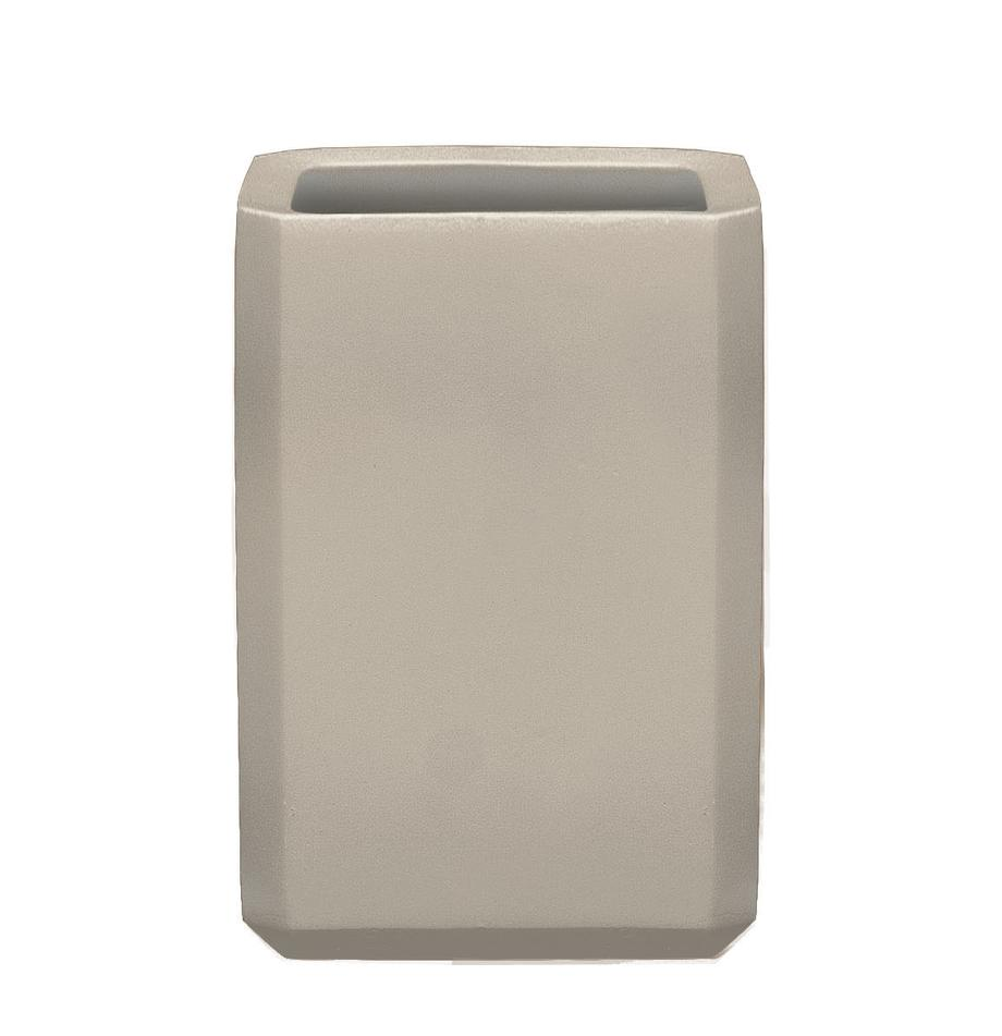 Tandenborstelbeker Loft van beton, Betonkleurig, Grijs, 8 x 11 cm