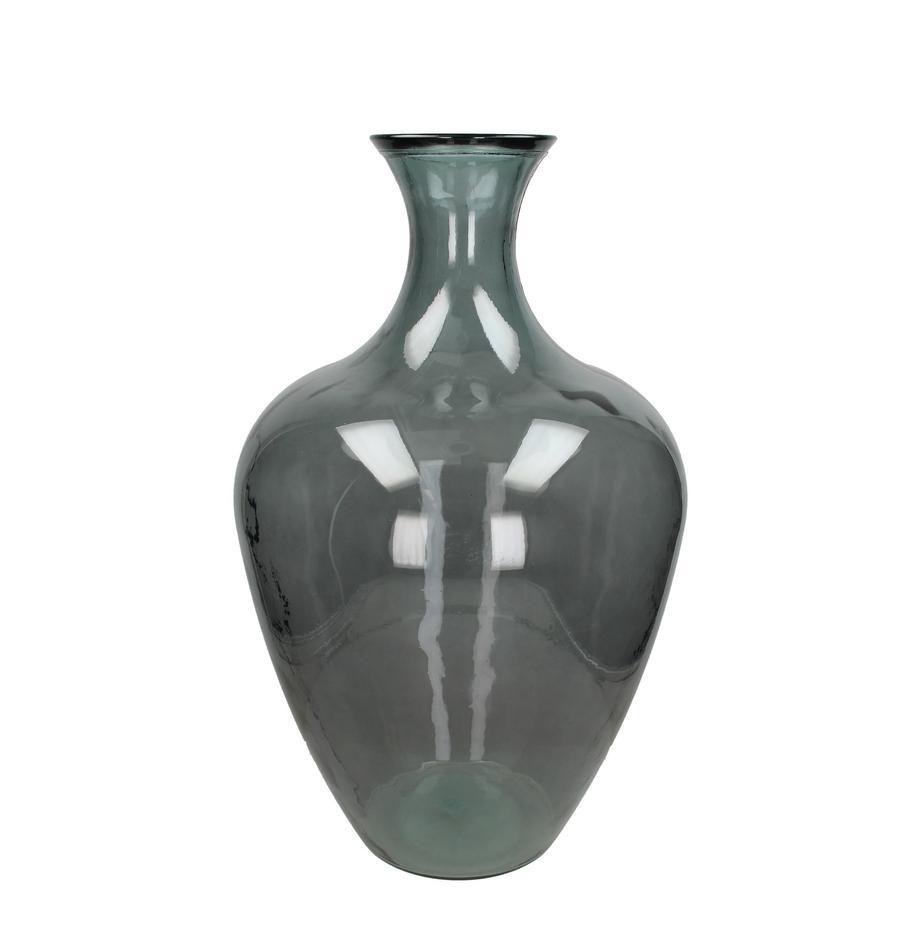 Duży wazon ze szkła Beryl, Szklanka, Szary, Ø 40 x W 65 cm