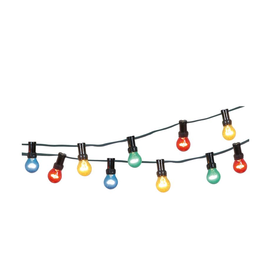 Ghirlanda a LED Jubile, 620 cm, Rosso, blu, verde, giallo, Lung. 620 cm