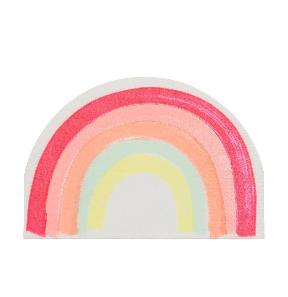 Serwetka z papieru Rainbow, 20 szt., Papier, Wielobarwny, S 12 x D 17 cm