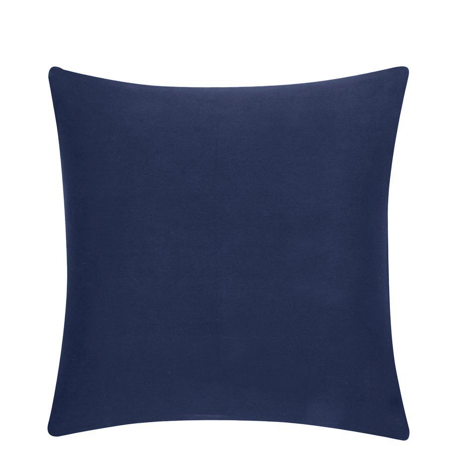 Poszewka na poduszkę Mads, 100% bawełna, Granatowy, S 40 x D 40 cm