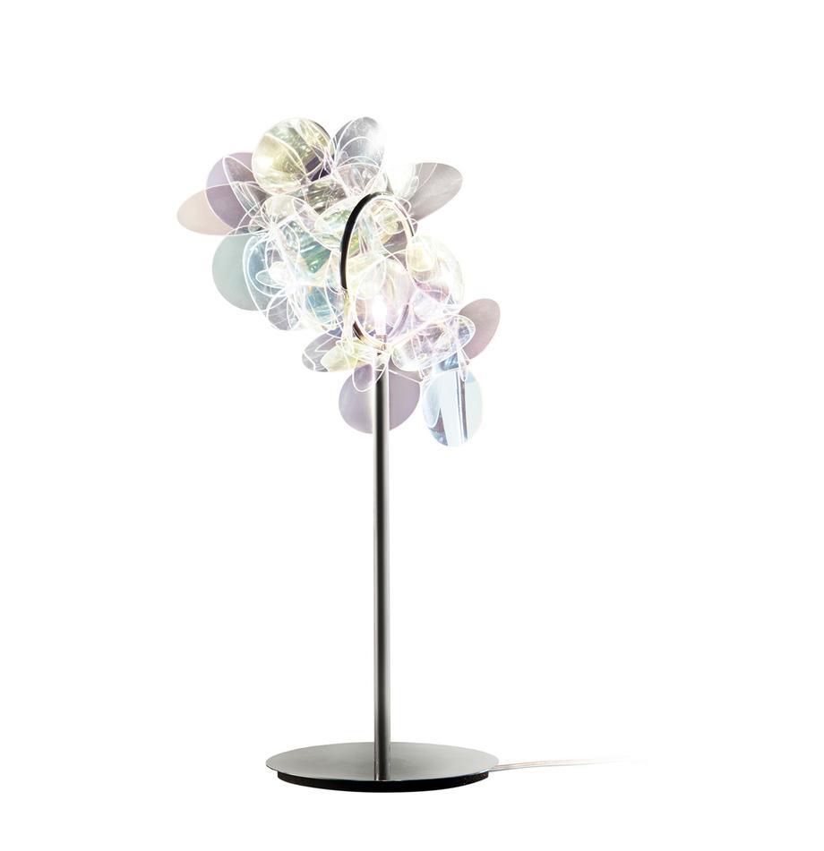 Design Tischlampe Mille Bolle, Lampenschirm: Technopolymer Cristalflex, Mehrfarbig, 22 x 41 cm