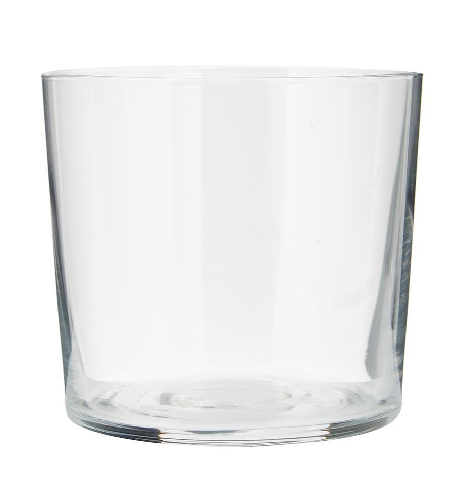 Bicchiere acqua in vetro sottile Gio 6 pz, Vetro, Trasparente, Ø 8 x Alt. 7 cm