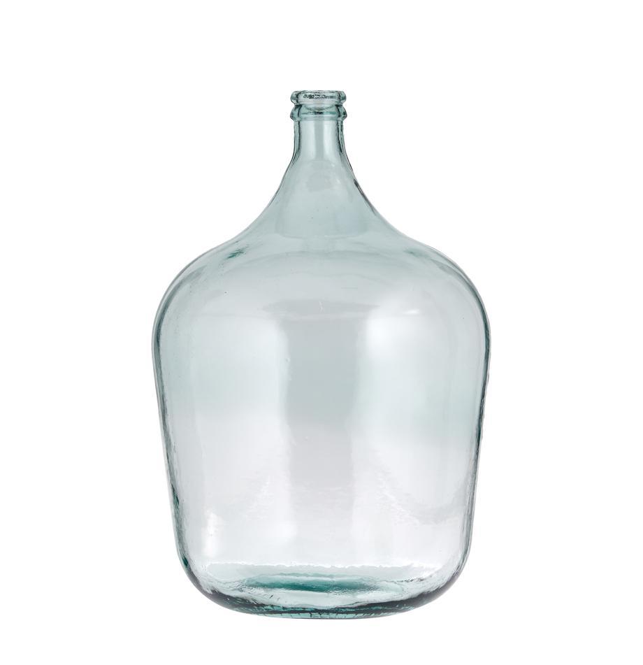 Vaso da pavimento in vetro riciclato Beluga, Vetro riciclato, Azzurro, Ø 40 x Alt. 56 cm
