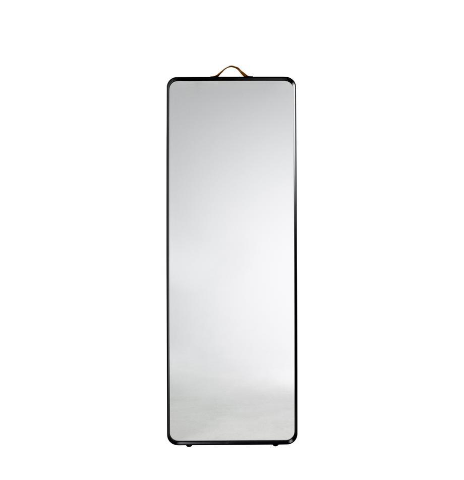 Wandspiegel Norm, Schwarz, 60 x 170 cm