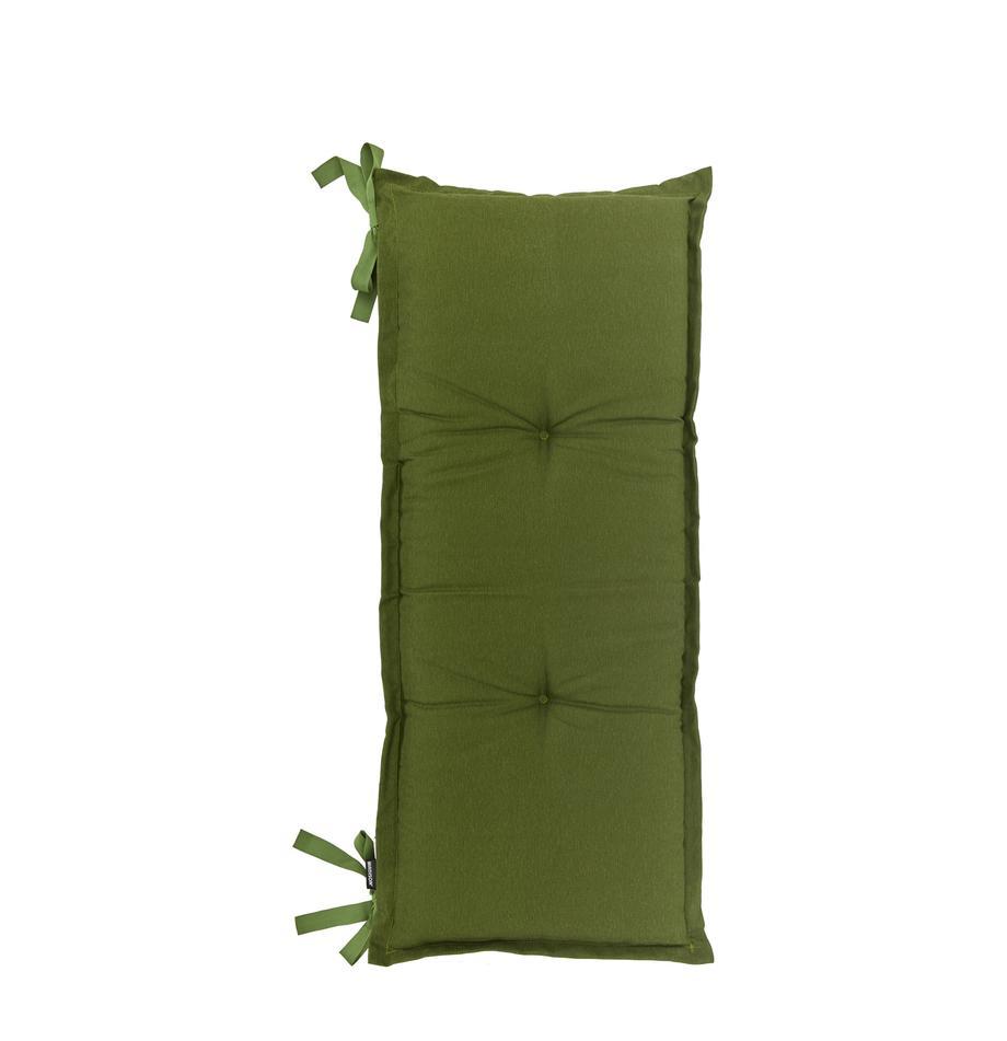 Effen bankkussen Panama in groen, Groen, 48 x 120 cm