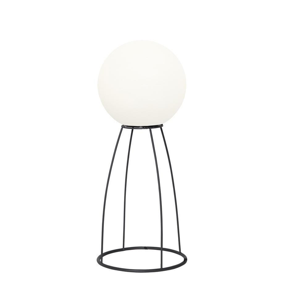 LED-Aussenstehleuchte Gardenlight, Lampenschirm: Kunststoff, Gestell: Metall, Weiss, Schwarz, Ø 29 x H 70 cm