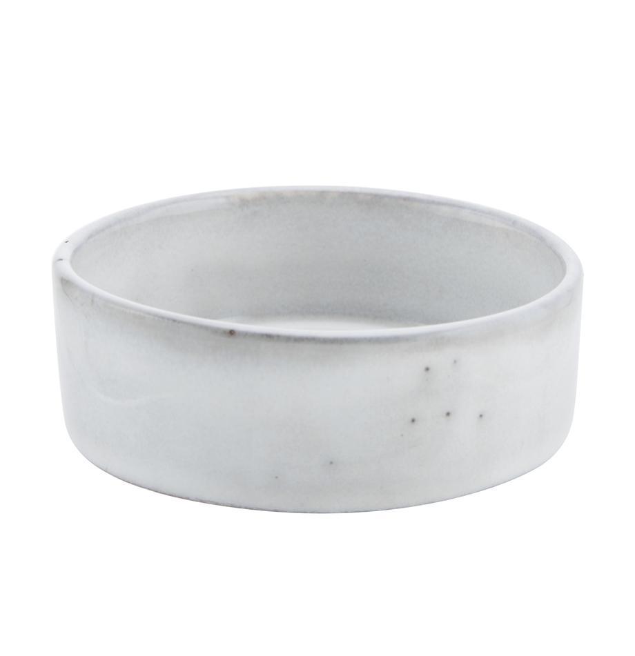 Ręcznie wykonana miska z kamionki Nordic Sand, 4szt., Kamionka, Odcienie piaskowego, Ø 8 x W 3 cm
