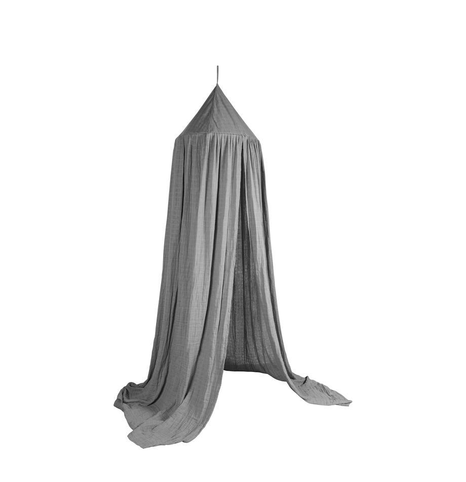 Dosel para cama Stars, Funda: algodón, Gris, Ø 52 x Al 240 cm