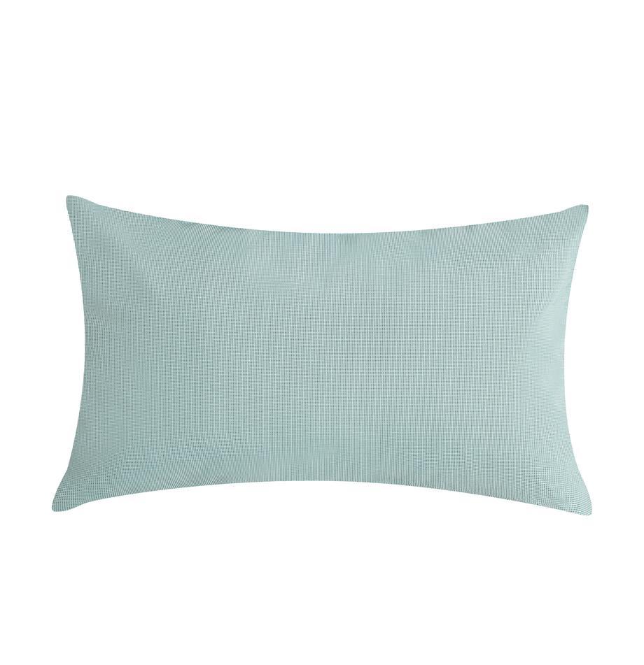 Cuscino da esterno con imbottitura St. Maxime, Verde menta, nero, Larg. 30 x Lung. 50 cm