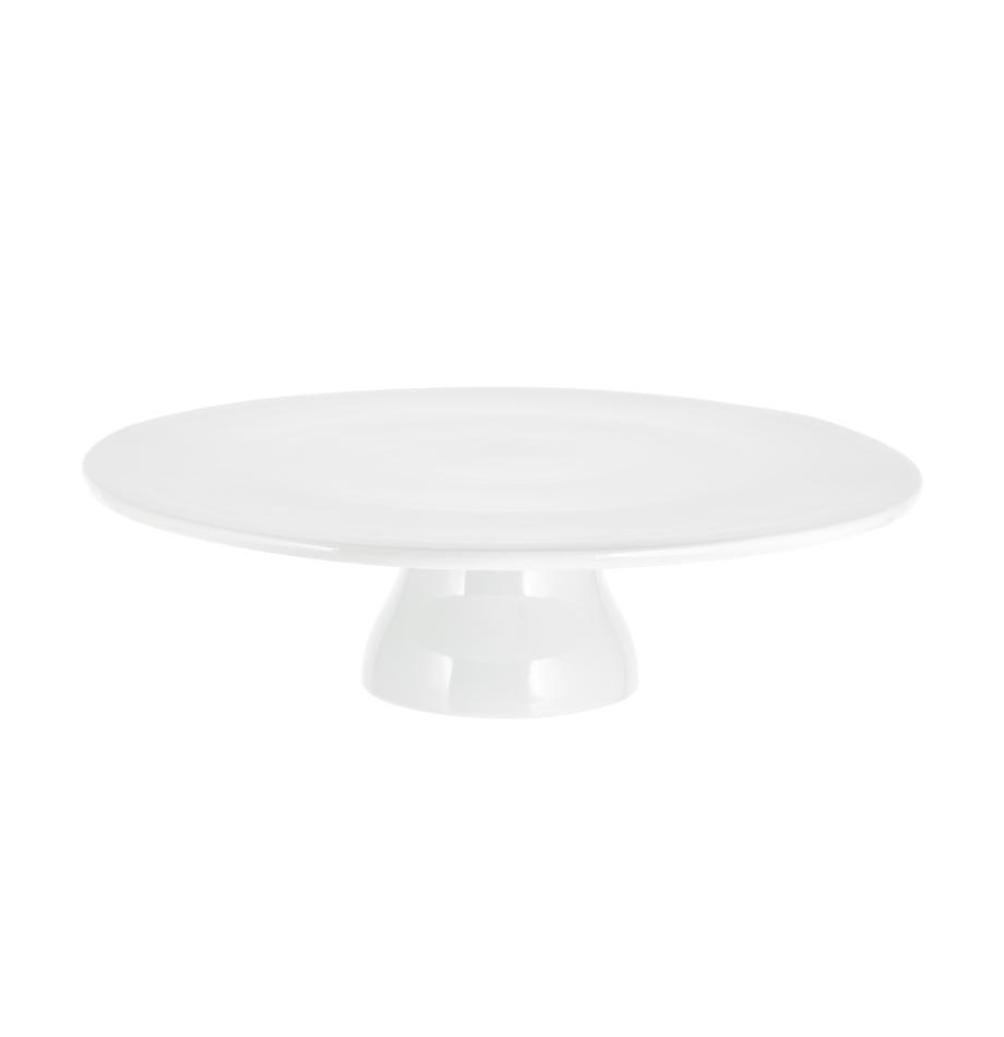 Alzatina in porcellana Yanis, Porcellana, Bianco, Ø 33 cm