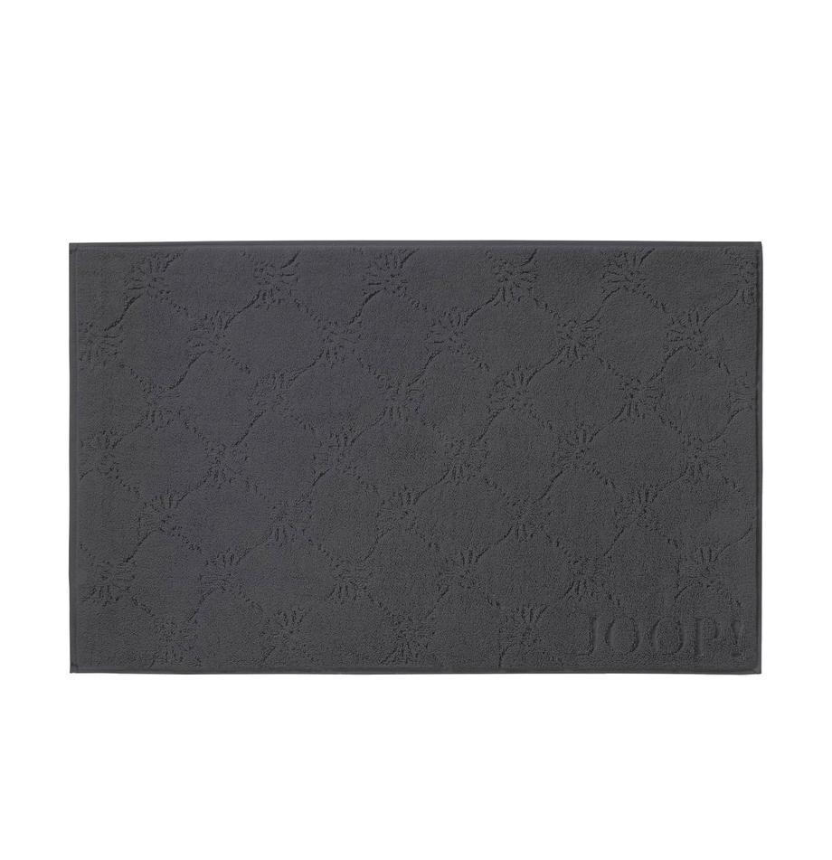 Dywanik   łazienkowy  Cornflower, Antracytowy, S 50 x D 80 cm