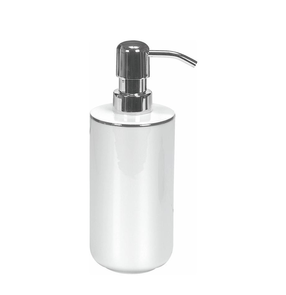 Dozownik do mydła z porcelany Noblesse, Biały, Ø 8 x W 19 cm