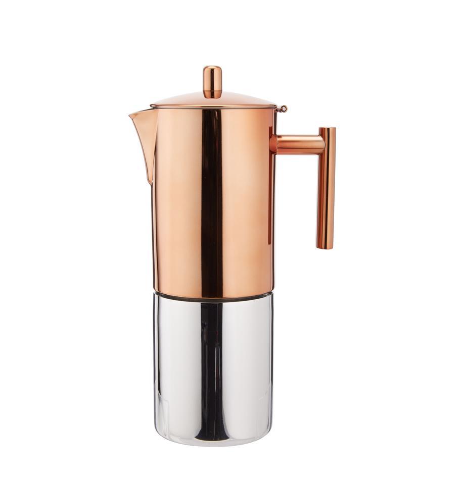 Cafetera Molly, Parte superior: cobre, pulido, Parte inferior: acero inoxidable, pulido, Cobre, acero inoxidable, 600 ml