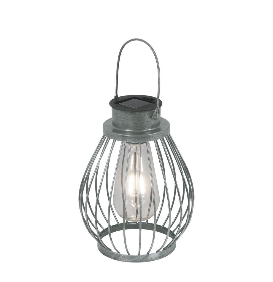 LED Solarleuchte Grid, Lampenschirm: Glas, Metall, Ø 16 x H 30 cm