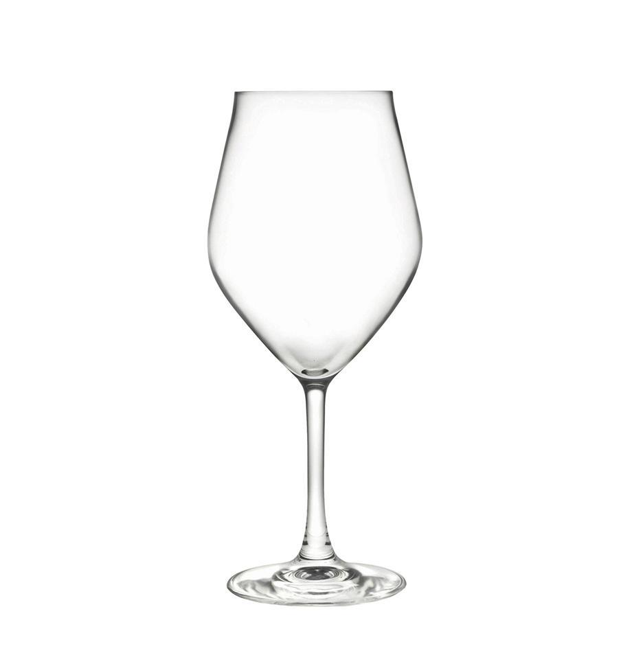 Kristall-Weissweingläser Eno, 6er-Set, Luxion-Kristallglas, Transparent, Ø 10 x H 22 cm