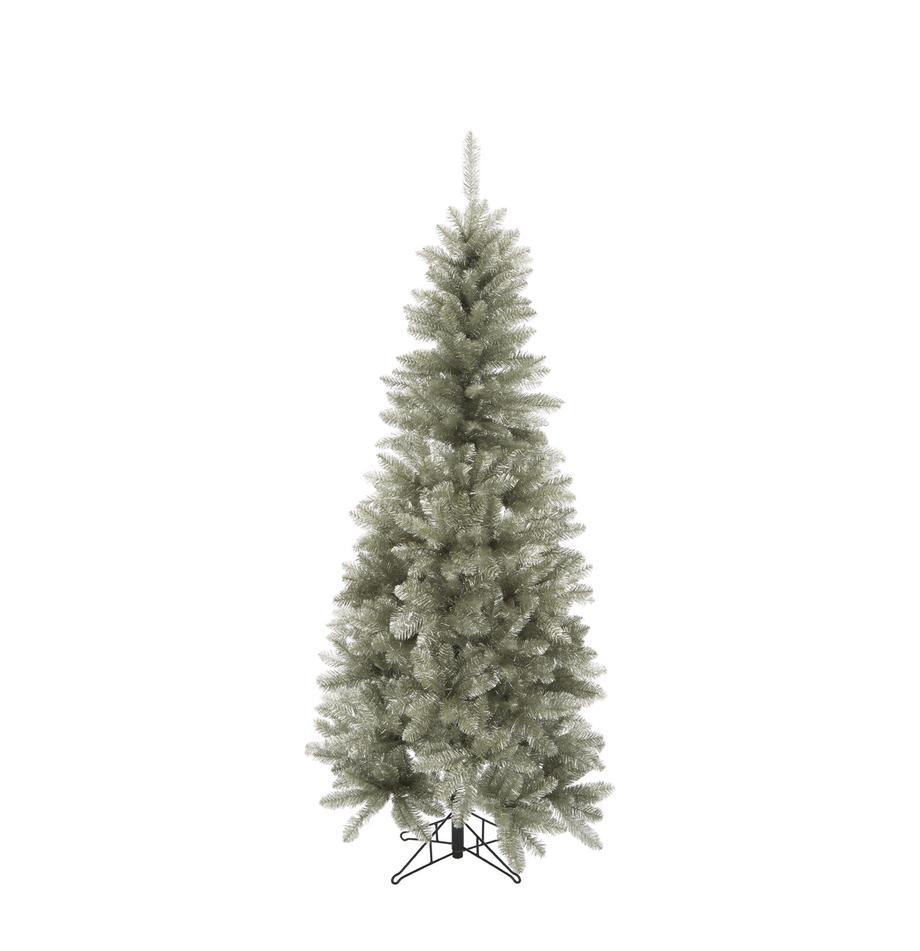 Árbol de Navidad artificial Colchester, Plástico (PVC), Platino, Ø 84 x Al 185 cm