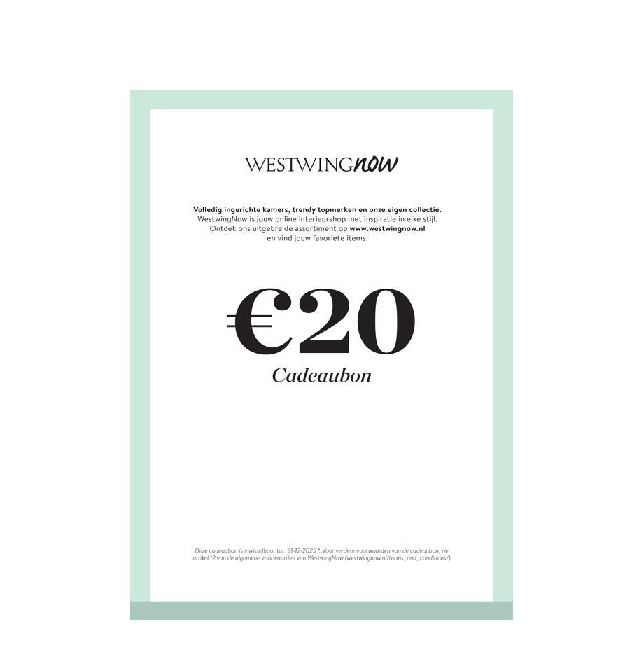 Cadeaubon om zelf te printen, Digitale cadeaubon Na ontvangst van de betaling ontvang je een e-mail met de downloadlink naar je cadeaubon. Je kunt het PDF-bestand gemakkelijk opslaan en afdrukken., Multicolour, 20