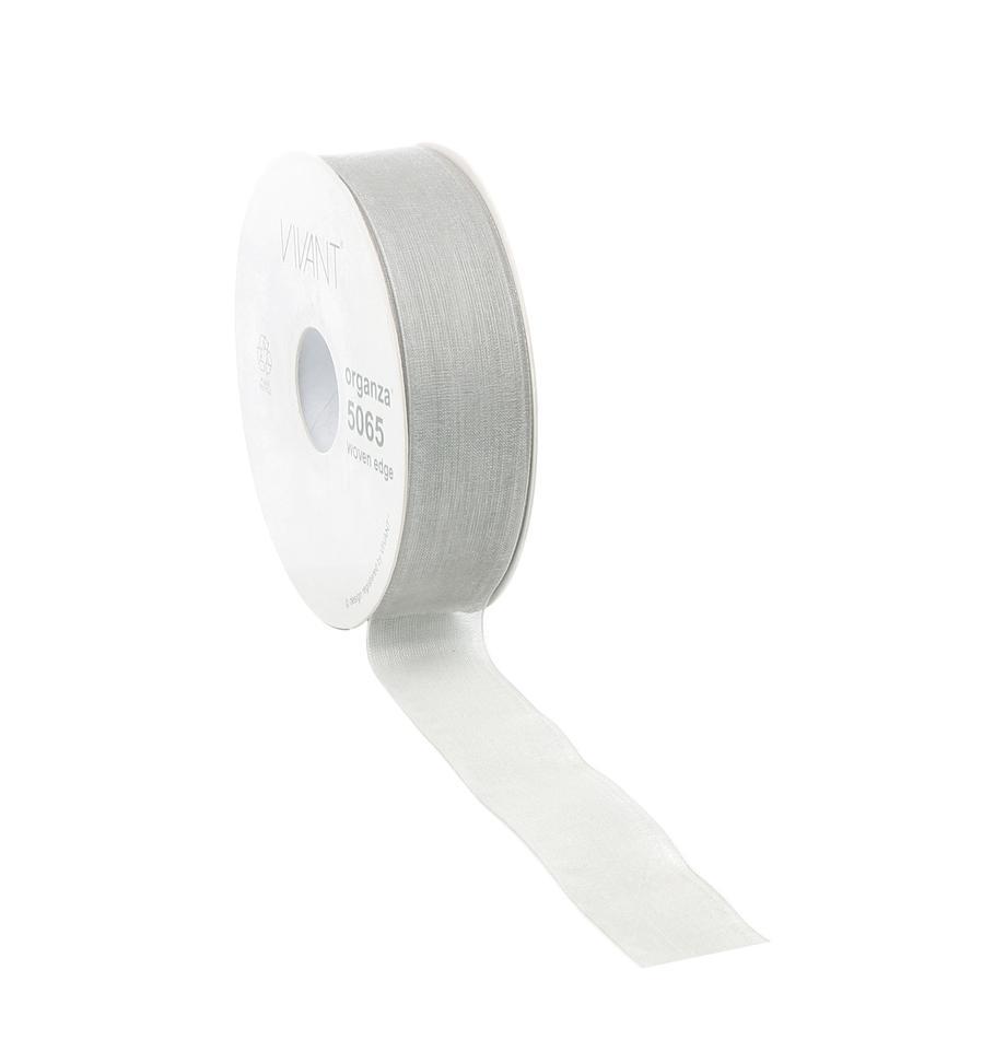 Geschenkband Origo, Polyester, Silberfarben, 3 x 5000 cm