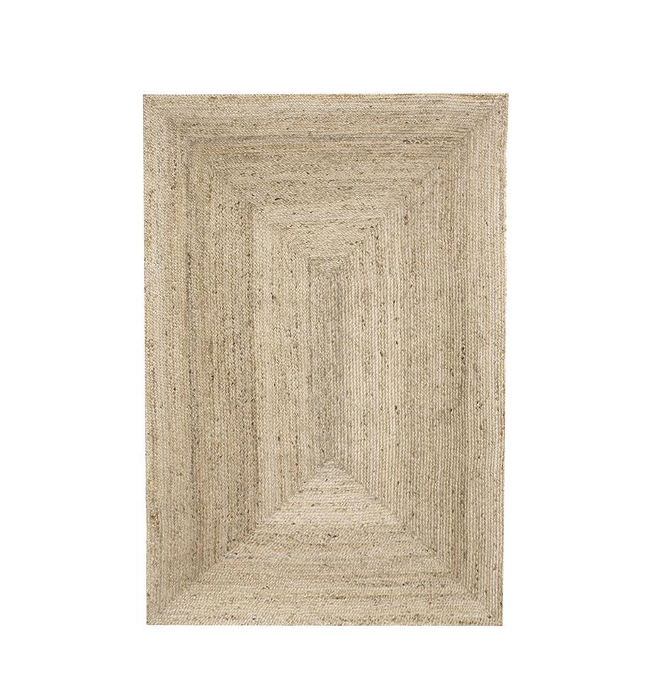 Tappeto in juta fatto a mano Sharmila, Beige, Larg. 120 x Lung. 180 cm (taglia S)