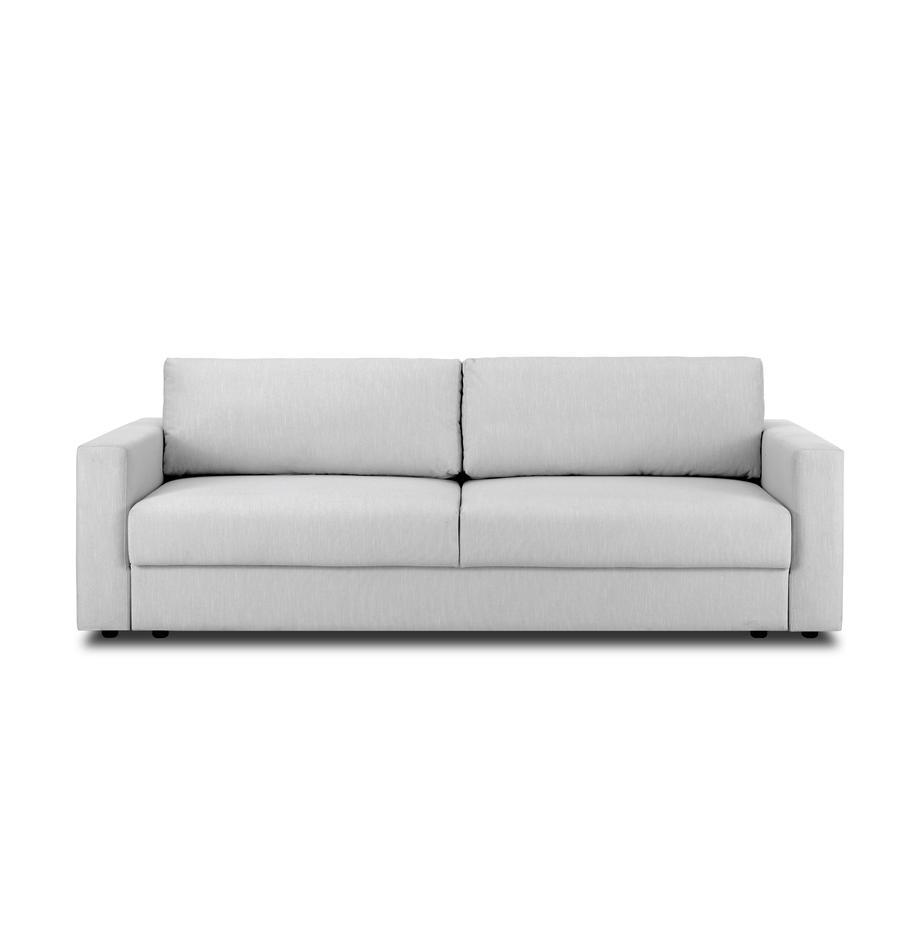 Schlafsofa Tasha in Hellgrau, Bezug: 100% Polyester Der hochwe, Webstoff Grau, B 235 x T 100 cm