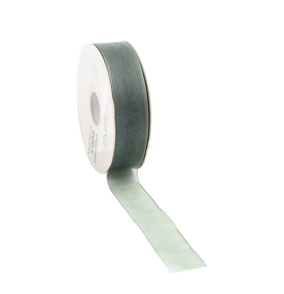 Cinta Origo, Poliéster, Verde salvia, An 3 x L 5000 cm