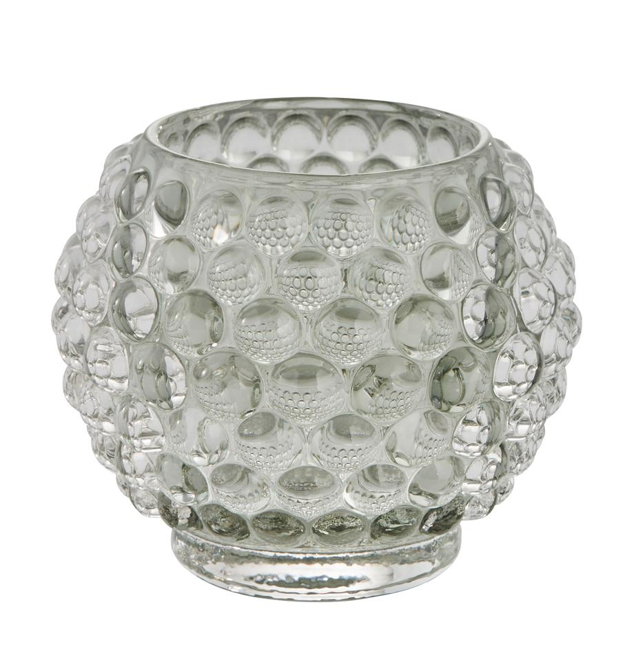 Waxinelichthouder Doria, Glas, Transparant, Ø 9 cm